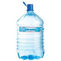 Вода для кулера негазированная питьевая «ЧЕРНОГОЛОВСКАЯ», 19 л, одноразовая пластиковая бутыль