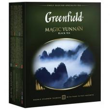 """Чай GREENFIELD (Гринфилд) «Magic Yunnan"""" (""""Волшебный Юньнань»), черный, 100 пакетиков в конвертах по 2 г"""