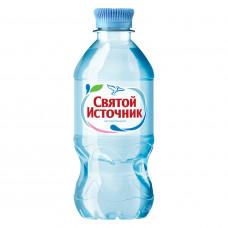 Вода негазированная питьевая «Святой источник», 0,33 л, пластиковая бутылка