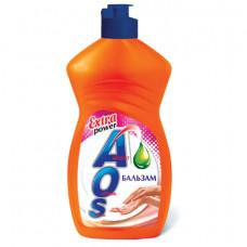 Средство для мытья посуды 450 мл, AOS «Бальзам»