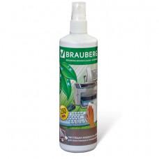 Чистящая жидкость-спрей BRAUBERG для любых пластиковых поверхностей, 250 мл