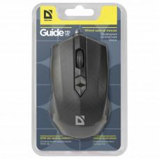 Мышь проводная DEFENDER Guide MB-751, USB, 2 кнопки+1 колесо-кнопка, оптическая, черная
