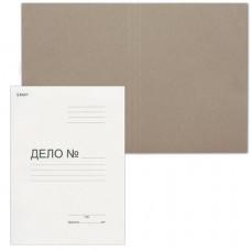 Папка без скоросшивателя «Дело», картон, плотность 220 г/м2, до 200 листов, STAFF