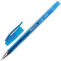Ручка гелевая BRAUBERG «Income», СИНЯЯ, корпус тонированный, игольчатый узел 0,5 мм, линия письма 0,35 мм