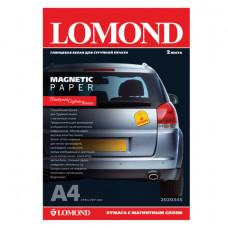 Бумага с магнитным слоем LOMOND глянцевая для струйной печати, А4, 2 л., 660 г/м2