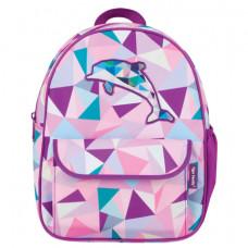 Рюкзак для дошкольников TIGER FAMILY (ТАЙГЕР) «Дельфин», 4 л, 29×24×10 см