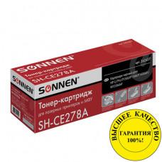 Картридж лазерный SONNEN (SH-CE278A) для HP LaserJet P1566/P1606DN, ВЫСШЕЕ КАЧЕСТВО, ресурс 2100 стр