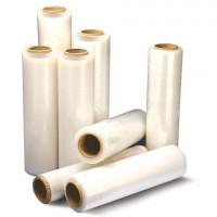Стрейч-пленка для ручной упаковки 50 см х 256 м, 17 мкм, 2 кг — нетто, ПЕРВИЧНОЕ СЫРЬЕ, растяжение 300%