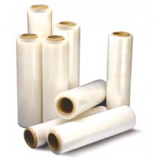 Стрейч-пленка для ручной упаковки 50 см х 307 м, 17 мкм, 2,4 кг — нетто, ПЕРВИЧНОЕ СЫРЬЕ, растяжение 300%