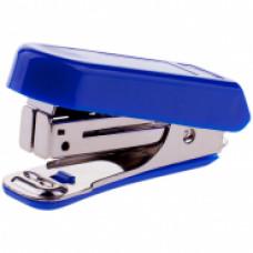 Мини-степлер №10 до 7л OfficeSpace, пластиковый корпус, синий