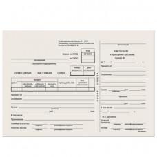 """Бланк """"Приходный кассовый ордер"""" А5 форма КО-1, газетка, 100 экз."""
