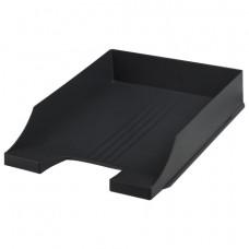 Лоток горизонтальный BRAUBERG-CONTRACT, черный, 230879