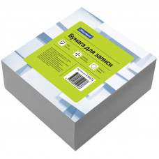Блок для записей 90х90х45 мм белый непроклеенный OfficeSpace