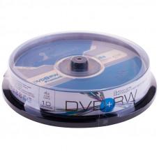 Диск DVD+RW 4.7Gb Smart Track 4x Cake Box (10шт)
