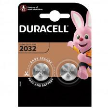 Батарейка DURACELL Lithium, CR2032 (2 шт в блистере)