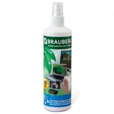 Чистящая жидкость-спрей BRAUBERG для экранов мониторов и оптических поверхностей, 250 мл,