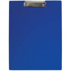 Планшет с зажимом  А4 , пластик, синий  OfficeSpace