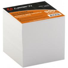 Блок для записей 90х90х90 мм белый непроклеенный Lamark