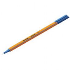 """Ручка капиллярная  0,4  мм, синяя Berlingo """"Rapido"""" трехгранная"""