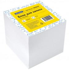 Блок для записей 80х80х40 мм белый проклеенный OfficeSpace, белизна 70-80%