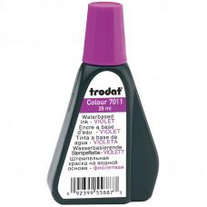 Штемпельная краска фиолетовая 28мл Trodat