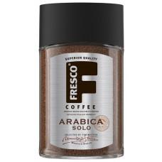 Кофе растворимый Fresco Arabica Solo, стеклянная банка