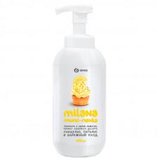 Мыло жидкое 500 мл мыло-пенка Grass Milana Лимонный пирог
