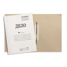 Скоросшиватель Дело 440 г/м2 картон мелованный, белый
