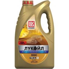 Моторное масло LUKOIL Люкс 10W-40 4л. полусинтетическое
