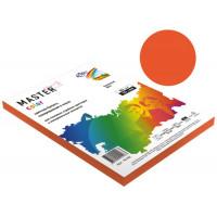Бумага Master Color А4, 80 г/м, 50 л. оранжевый