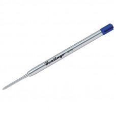 Стержень шар. синий 099мм, 1,0мм, объемный Berlingo, метал. корпус (Parker type)