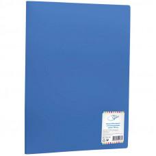 "Папка 10 вкладышей  синяя 8 мм, 400мкм""OfficeSpace"""