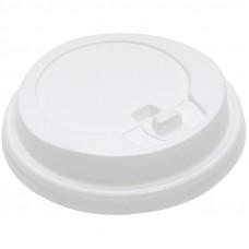 Крышка с откидным питейником для стакана Huhtamaki, d- 80мм, белая