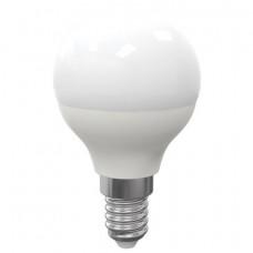 Лампа светодиодная SONNEN, 5 (40) Вт, цоколь E14, шар, теплый белый свет, LED G45-5W-2700-E14,