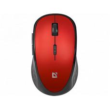 Мышь беспроводная Defender Hit MM-415 6 кнопок 1600dpi красный