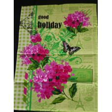 Полотенца бумажные Malibu 100 листов 2-х сл., 2шт/уп