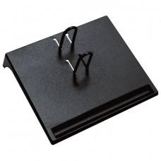 Подставка для календаря малая  СТАММ 175х205х37 мм, черная