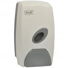 Диспенсер для жидкого мыла Puff 8115, наливной, механический, пластик, белый, 1л
