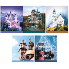 "Тетрадь А5 96 л.кл ArtSpace ""Путешествия. Mysterious castle"""
