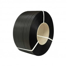 Лента стягивающая полипропиленовая 12 мм. х 0,5 (3000 м.)  черная