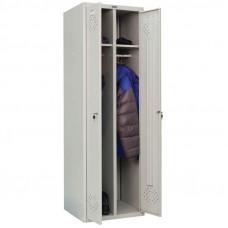 Шкаф для раздевалок Практик LS (LE) -21, 1830*575*500, 2 секции