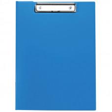 Папка-планшет с зажимом  А4, пластик, синий OfficeSpace