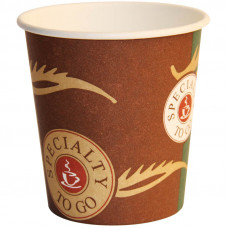 """Стаканы одноразовые бумажные Huhtamaki """"Кофе с собой"""", d-80мм, 250мл"""
