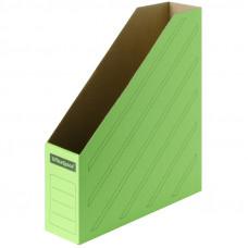 Накопитель-лоток архивный из микрогофрокартона OfficeSpace, 75мм, зеленый, до 700л.