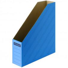 Накопитель-лоток архивный из микрогофрокартона OfficeSpace, 75мм, синий, до 700л.