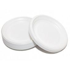 Тарелка десертная d170мм белая 100 шт/уп