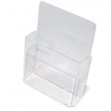 Подставка для рекламных материалов настольная, для узких буклетов, 115х32 мм (формат 1/3 А4), №106