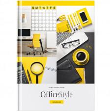 "Блокнот А5 80л. 7БЦ OfficeSpace ""Офис. Office Style"", твердая обложка"