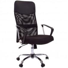 """Кресло руководителя """"Chairman 610"""" CH, ткань чёрная, механизм качания"""