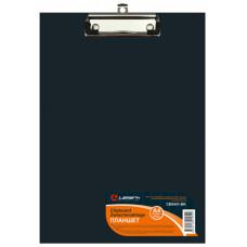 Планшет с зажимом А4  PVC черный Lamark